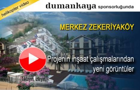 Merkez Zekeriyaköy projesinin havadan en yeni görüntüleri!