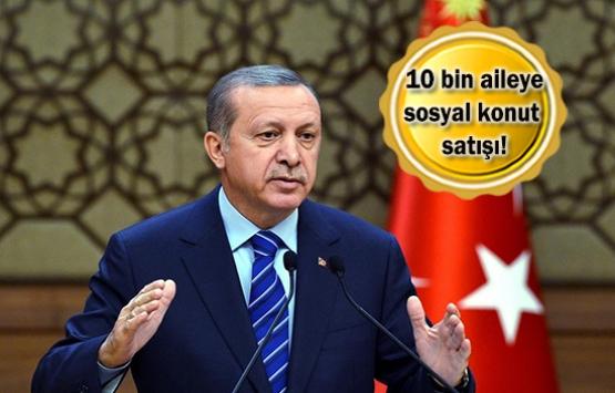 Cumhurbaşkanı Erdoğan'dan dar gelirliye müjde!