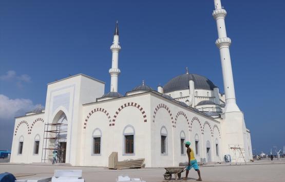 Cibuti'deki 2. Abdülhamid Han Camisi ibadete açılıyor!
