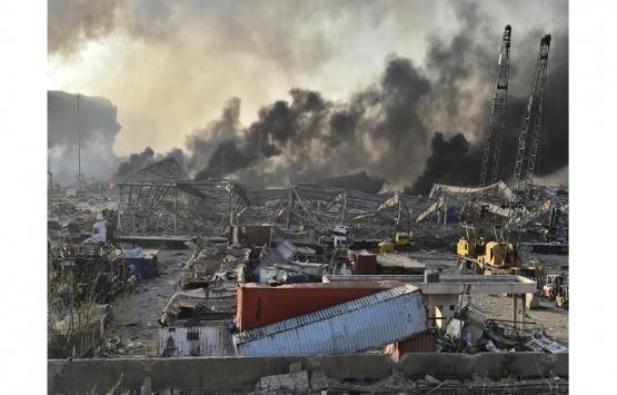 Beyrut'taki patlamadan tarihi yapılar da nasibini aldı!