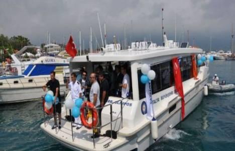 Antalya-Kemer arası deniz