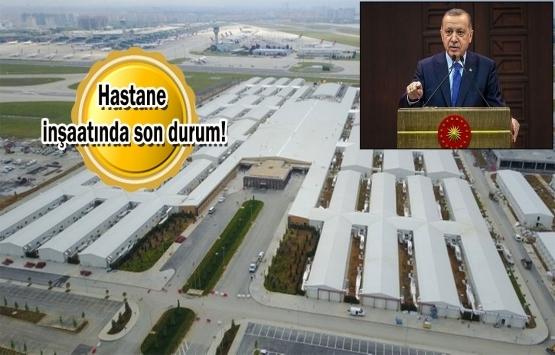 Yeşilköy'deki pandemi hastanesi 31 Mayıs'ta açılıyor!