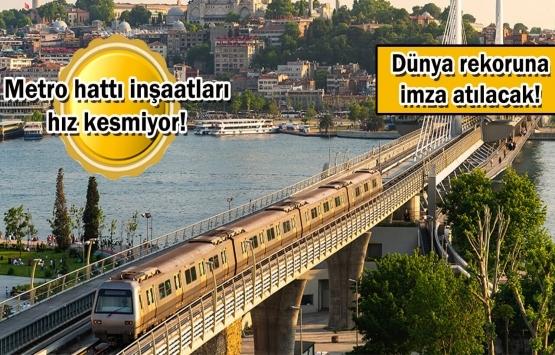İstanbul metro ağlarıyla örülüyor!