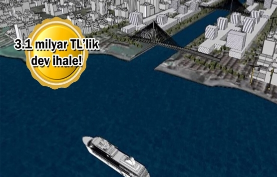 Kanal İstanbul projesinde 2'nci ihale yapıldı!