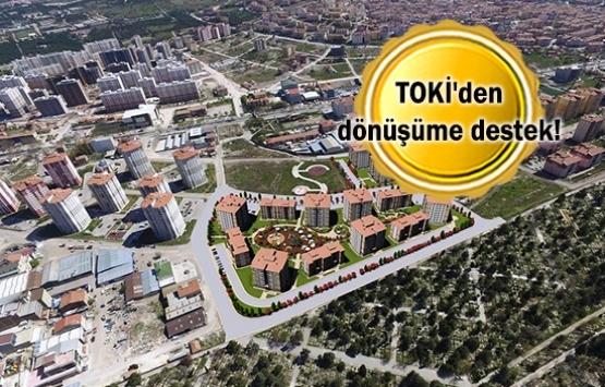 TOKİ kentsel dönüşüm projelerini hazırlıyor!