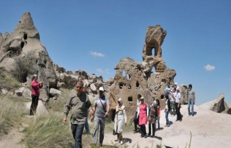 Kapadokya'ya Ocak-Şubat'ta 209 bin turist geldi!