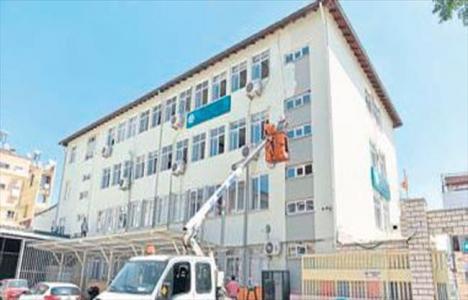 Antalya Muratpaşa'da okullar onarılıyor!