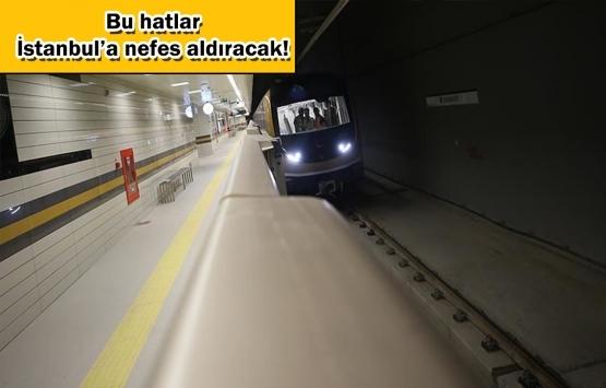 İstanbul'da devam eden metro inşaatları ve açılış tarihleri!
