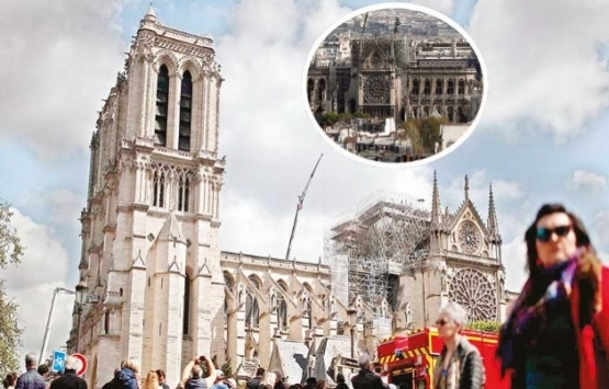 Geçici Notre Dame Katedrali önerisi!
