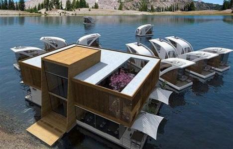 Fırat Nehri'ne yüzen oteller planlanıyor!
