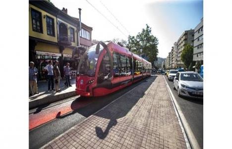 Bursa İpekböceği tramvay
