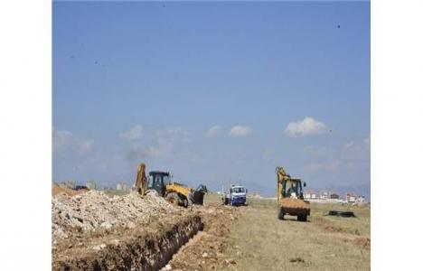 TOKİ Karaman'da işçi