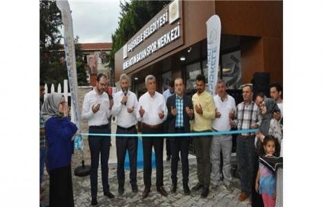 Başiskele'de yeni spor merkezi açıldı!