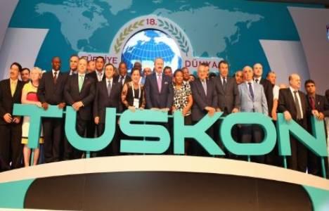 TUSKON'un düzenlediği 20'nci Türkiye - Dünya Ticaret Köprüsü İstanbul'da yapıldı!