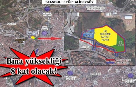 Emlak Konut Alibeyköy arsa ihalesi 21 Ocak'ta!
