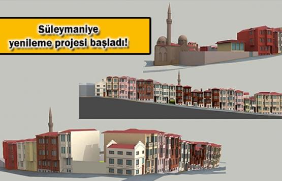 KİPTAŞ Süleymaniye'yi tarihi