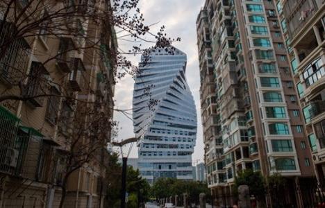 Çin'deki Burgu Bina'nın