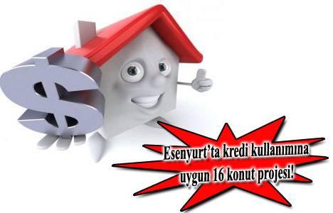 Esenyurt krediye uygun satılık daireler 2013!