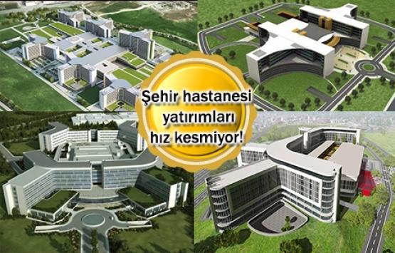 2019'da 5 şehir hastanesi açılacak!