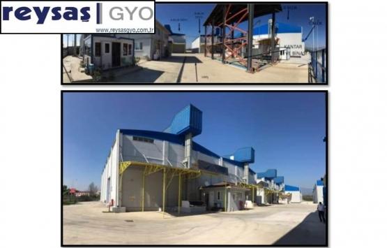 Reysaş GYO Düzce'deki deposunu 1 milyon TL'ye kiraya verdi!