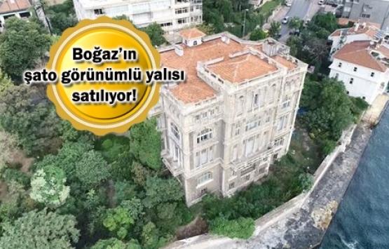 Tophane Müşiri Zeki Paşa Yalısı 550 milyon TL'ye satışta!