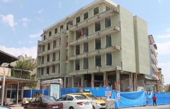 Afyonkarahisar Belediye Oteli binası yıkılıyor!