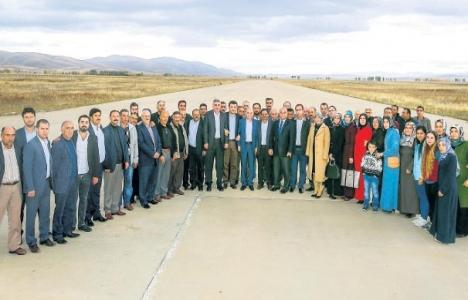 Osman Akgül: Köse Havaalanı'nın açılması için her şeyi yapacağız!