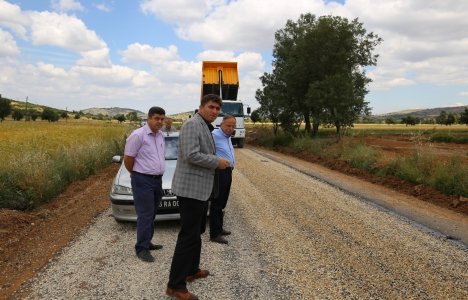 Manisa Kula'da asfalt çalışmaları başladı!