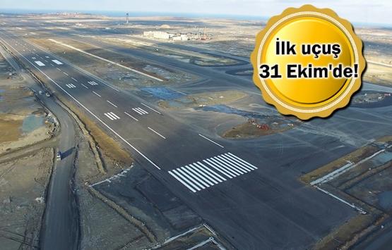 İstanbul Yeni Havalimanı 1 hafta sonra açılacak!