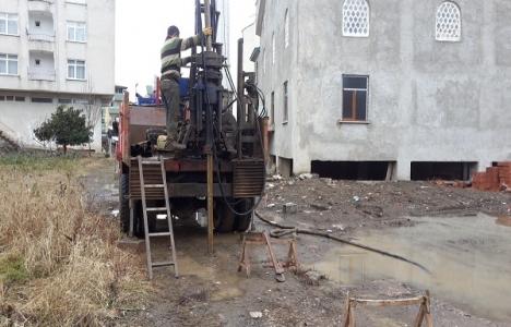 Ordu Fatsa'daki zemin etüdü çalışmaları tamamlandı!