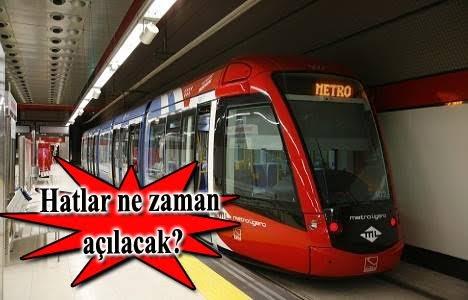 Anadolu Yakası'ndaki 2 metronun 4 yeni hattına bakanlıktan onay!