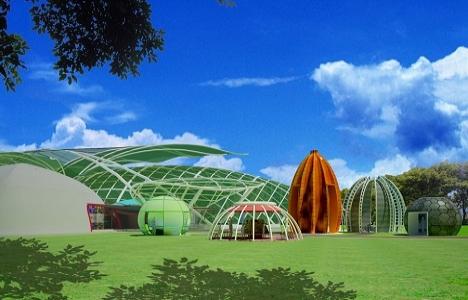 Konya'daki Kelebek Bahçesi