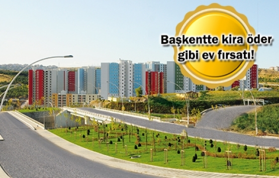 TOKİ'den Ankara'da ucuz konut fırsatı!