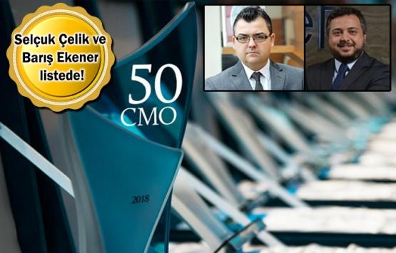 Türkiye'nin En Etkin 50 CMO'su açıklandı!