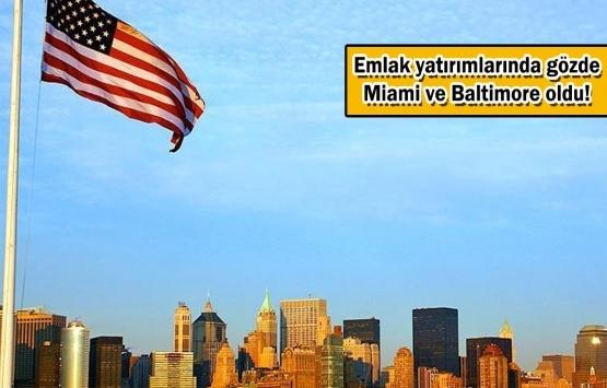 Türklerin ABD'deki konut yatırımları hızlandı!