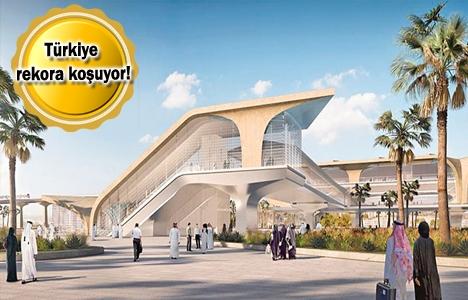 Türk müteahhitler Körfez'de 51.3 milyar dolarlık proje üstlendi!