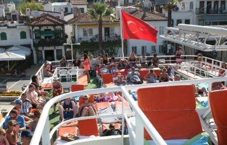 Marmaris'te tekne turları ilgi görüyor!