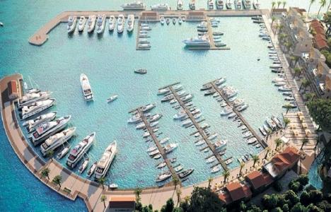 Portonovi Marina'yı 'D-Marin' işletecek!