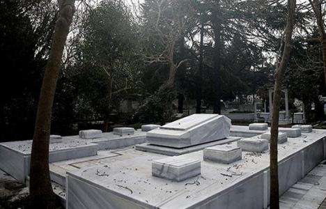 İstanbul'daki mezarlarda 9