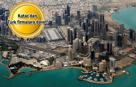 Türk inşaat firmaları Katar'da 11 milyar dolarlık proje üretecek!
