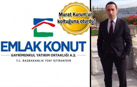 Emlak Konut'un yeni genel müdürü Hakan Gedikli oldu!