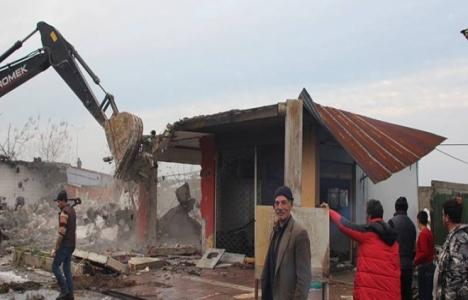 Rize Ardeşen'de kentsel dönüşüm yıkımları başladı!
