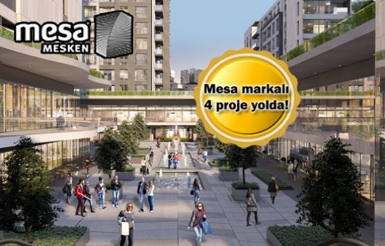 Mesa Mesken'den 4 yeni proje! 3'ü İstanbul'da!