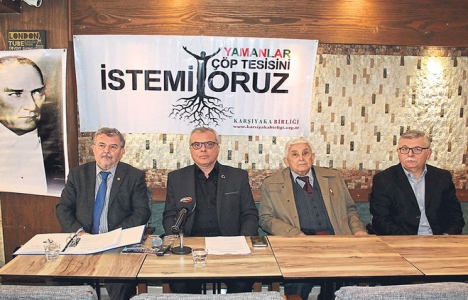 Yamanlar Çöp Tesisi'ne Karşıyaka Çevre Platformu'ndan tepki!