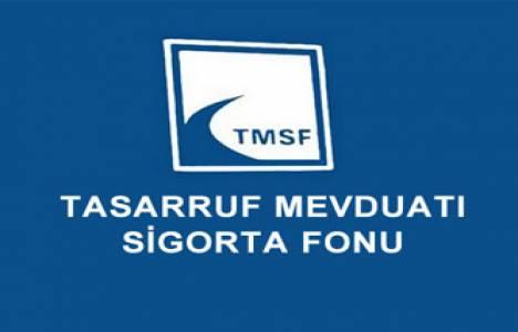 TMSF gayrimenkul satışından