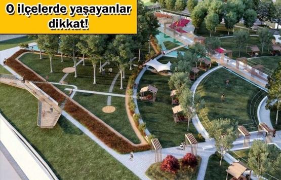 İstanbul'a iki yeni millet bahçesi müjdesi!