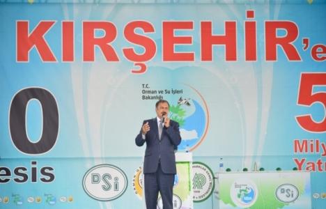 Veysel Eroğlu Kırşehir'de