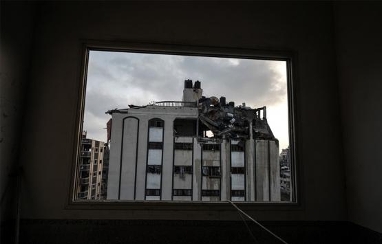 Gazze'de saldırı sonucu binalar ve yerleşim yerleri hasar gördü!