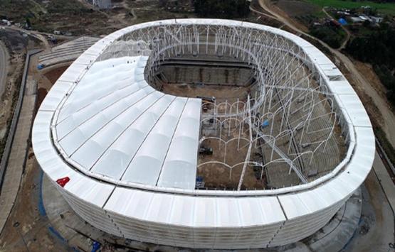 Adana'nın yeni stadı 2 aya hazır!