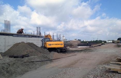 Karasu Atıksu Arıtma Tesisi'nin inşaatı devam ediyor!